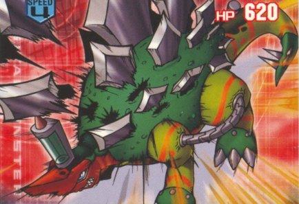Abecedario Digimon! - Página 2 BioStegomon