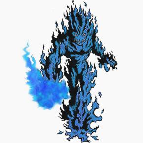 Create your Own Bakugan BlueMeramon