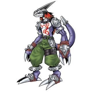 Digimons e treinadores(domadores,comapanheiros) tanto do Bem anto do mal Strikedramon