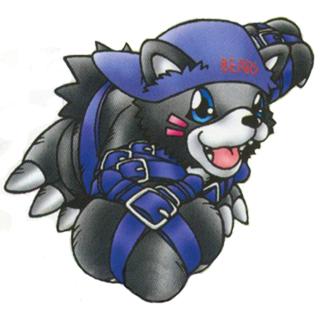 Role Play Digimon Bearmon