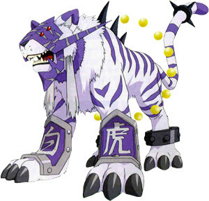 [FanFic] Digimon Antiga Ameaça  Baihumon