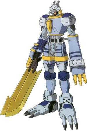 Digimons e treinadores(domadores,comapanheiros) tanto do Bem anto do mal Beowolfmon